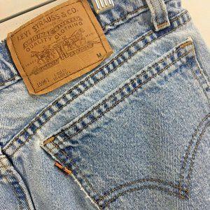 Vintage Levis 961 Orange Tab Jeans Womens 14 USA